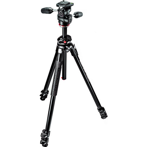 290 Dual Kit with MT290EXPA3 Aluminum Tripod, and MH804-3W Head