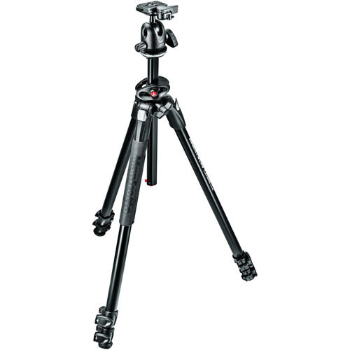 290 Dual Kit with MT290EXPA3 Aluminum Tripod and 496RC2 Head
