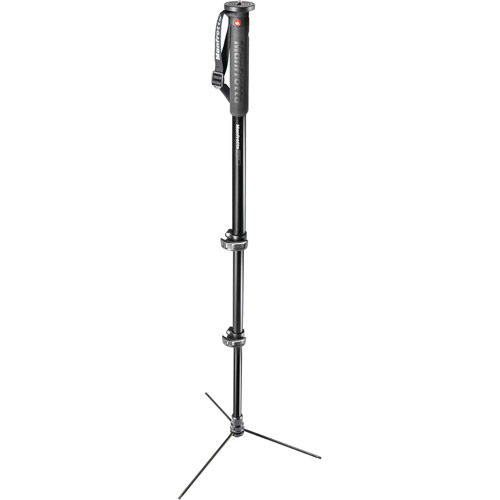 XPRO Aluminum Self-Standing Monopod - 3 Section