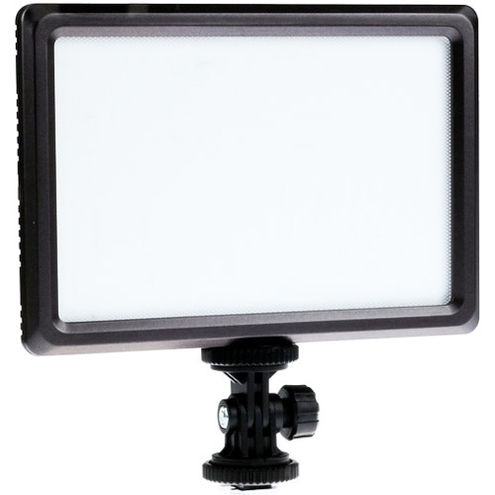 LG-E116C Soft On Camera LED Light Pad with F770 Battery and Charger