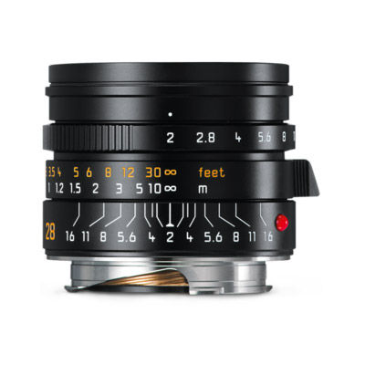 28mm f/2.0 Summicron-M ASPH Wide Angle Lens