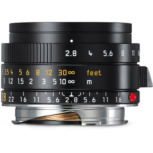 28mm f/2.8 Elmarit-M ASPH Black Wide Angle Lens