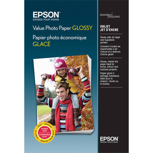"""4""""x6"""" Value Photo Paper Glossy - 100 Sheets"""