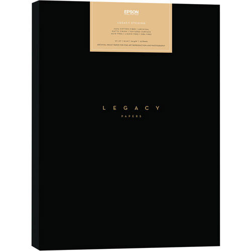 """8.5""""x11"""" Legacy Etching Paper - 25 Sheets"""