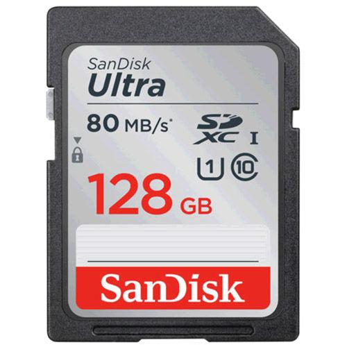 Ultra 128GB SDXC UHS-1 U1 Class 10 Card, 80MB/s, 533x