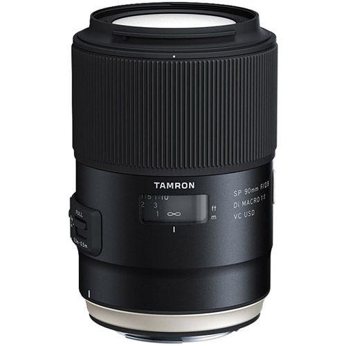 90mm f/2.8 Di SP VC USD 1:1 Macro Lens for Canon