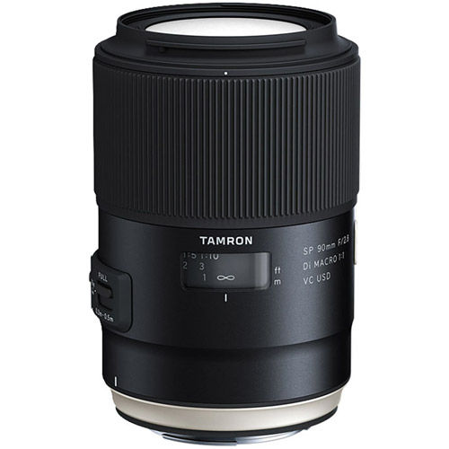 90mm f/2.8 Di SP VC USD 1:1 Macro Lens for Nikon