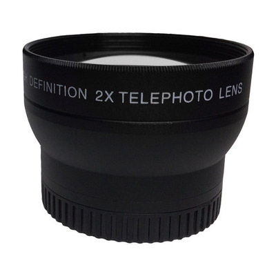 37mm 2x Telephoto Lens for iOgrapher Mounts Fits ALL Cases