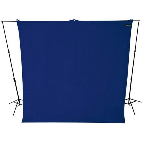 9'x10' Blue Screen Backdrop Wrinkle Resistant