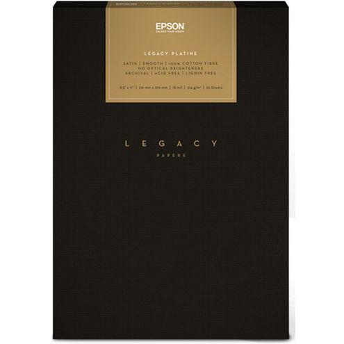 "8.5""x11"" Legacy Platine Paper - 25 Sheets"