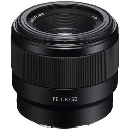 SEL FE 50mm f/1.8 E-Mount Lens