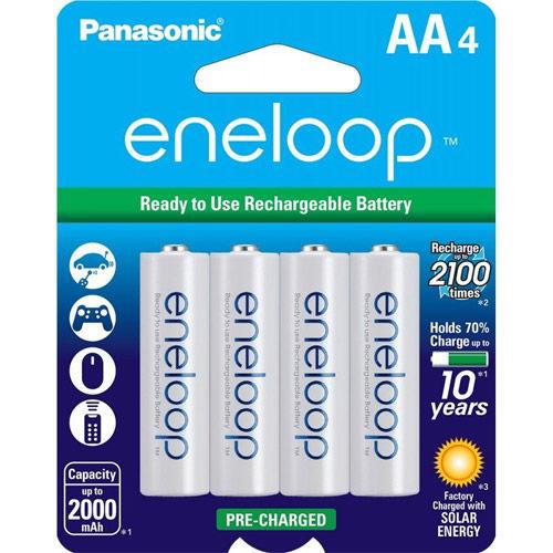 Eneloop 2000 mAh NiMH AA 4-pack