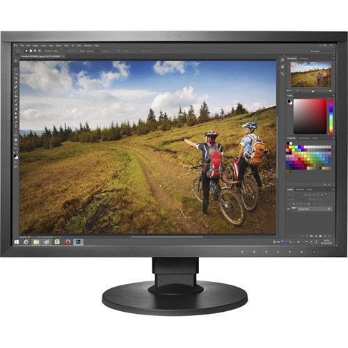 "CS2420-BK-CNX 24"" 1920x1200 IPS, LED, 99% Adobe, DP/HDMI/DVI, Bundle w/ Eizo EX3 Color Sensor"