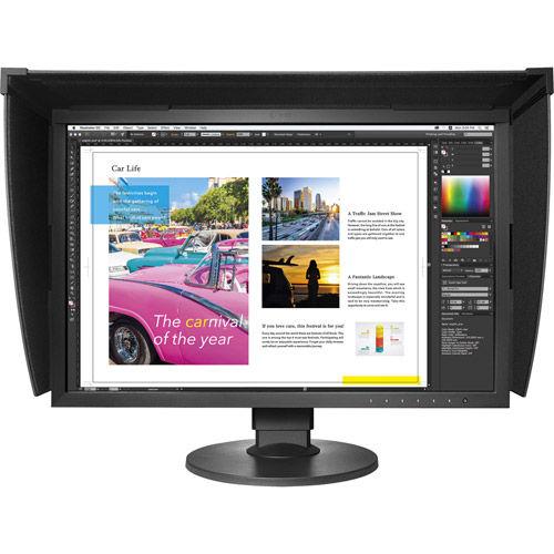 """CG2420-BK 24"""" 1920x1200 IPS, LED, 99% Adobe, Hardware Calibration, Bundled with Hood"""