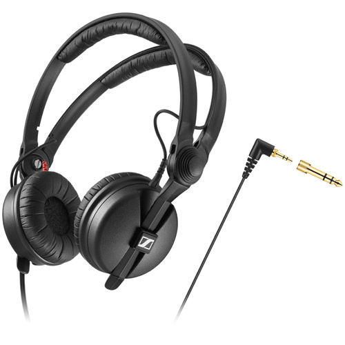 HD 25 Closed-back, On-ear Professional Monitoring Headphones w/ Split Headband