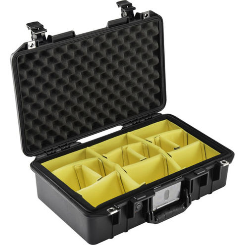 1485 Air Case Black w/Padded Dividers