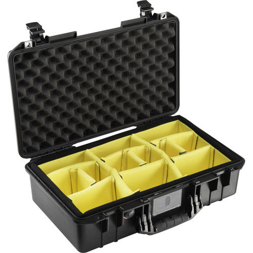 1525 Air Case Black w/Padded Dividers