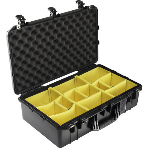 1555 Air Case Black w/Padded Dividers