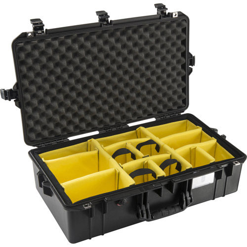 1605 Air Case Black w/Padded Dividers