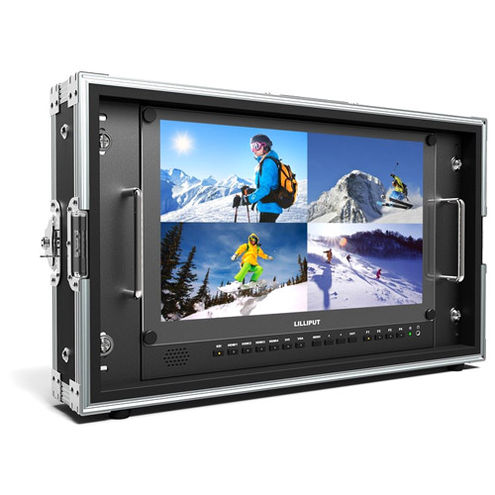 """15.6"""" Carry-on/Rackable 4K Broadcast Director Monitor"""