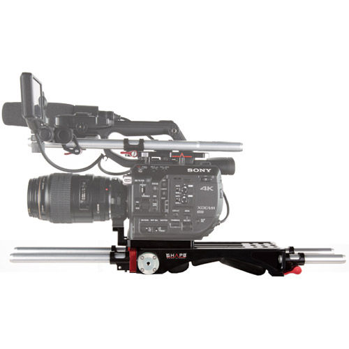 Sony FS5 Baseplate V-Lock Quick Release w/Metabone Support