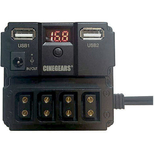 Power Distributor w/Voltage Meter & Surge Protect