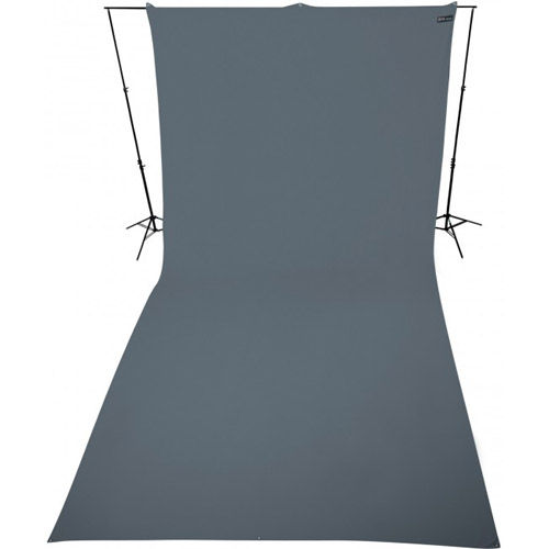 9'x20' Neutral Gray Background Wrinkle Resistant