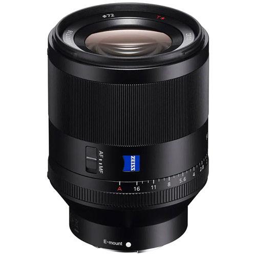 SEL FE 50mm f/1.4 ZA Planar T* E-Mount Lens