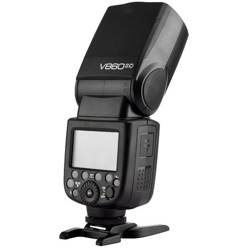 V860 II Flash Kit -Canon includes Li-On Battery, Case; NO CHARGER