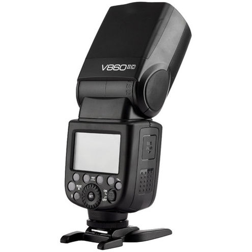 V860 II Flash Kit -Canon includes Li-On Battery, Charger, Case