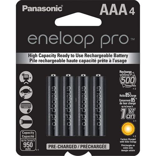 Eneloop 950 mAh NiMH AAA 4-pack