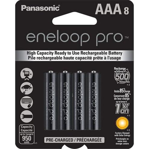 Eneloop 950 mAh NiMH AAA 8-pack