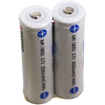 IMR 18650 2000 mAh Battery for Crane 2 - 3 Pack