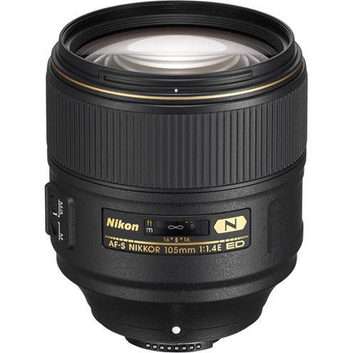 AF-S NIKKOR 105mm f/1.4 E ED Lens