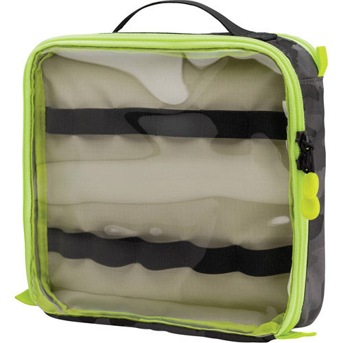 Tools Cable Duo 8 Cable Pouch - Black Camo/Lime