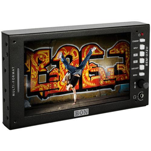 "7"" High Brightness 3G/HD/SD-SDI & HDMI Full HD On Camera Field Monitor w/ Waveform and Vectorscope"