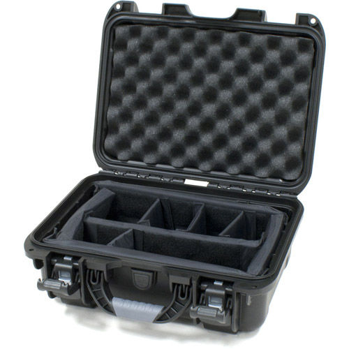 915 Case with padded divider - Black