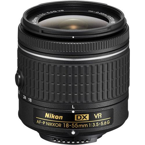 AF-P DX NIKKOR 18-55mm f/3.5-5.6 G VR Lens