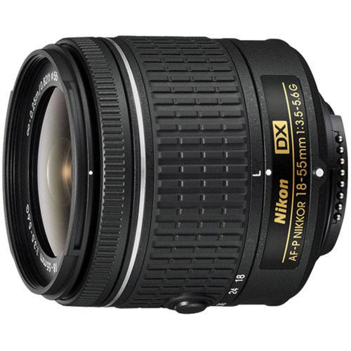 AF-P 18-55mm f/3.5-5.6 G DX Nikkor Lens