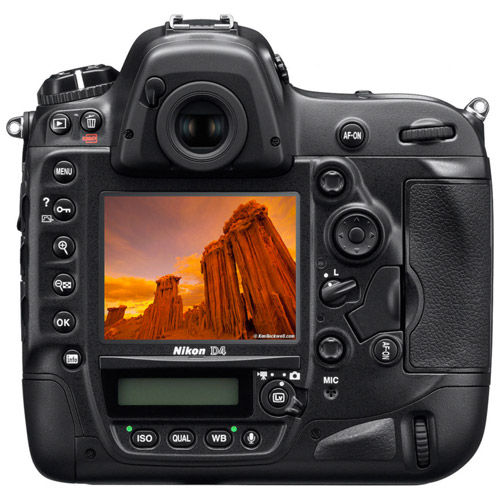 Glass Screen Protector for Nikon D5/D4s/D4