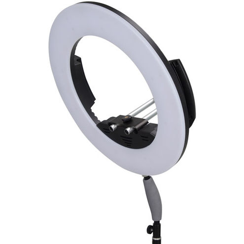 LG-R320C LED Ring Light 32W Bi-Colour with AC Adapter and Case