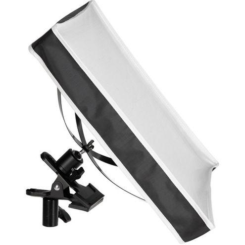 Flex 1x1 Bi-Color Set with LED Panel X-Bracket Mount, 1/4 Stop Front Difussion Panel