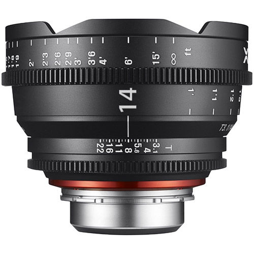 XEEN 14mm T3.1  Lens for PL Mount