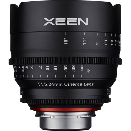 XEEN 24mm T1.5 Lens for Micro 4/3 Mount