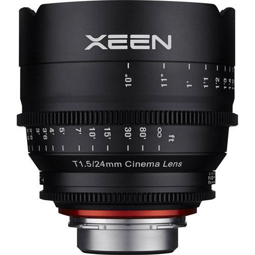 XEEN  24mm T1.5 Lens for Nikon F Mount