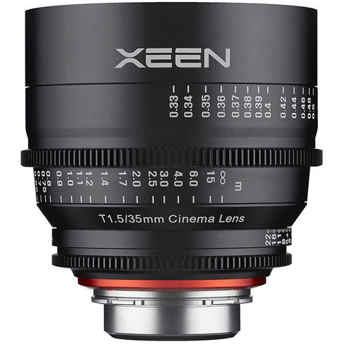 XEEN 35mmT1.5 Lens for Micro 4/3 Mount