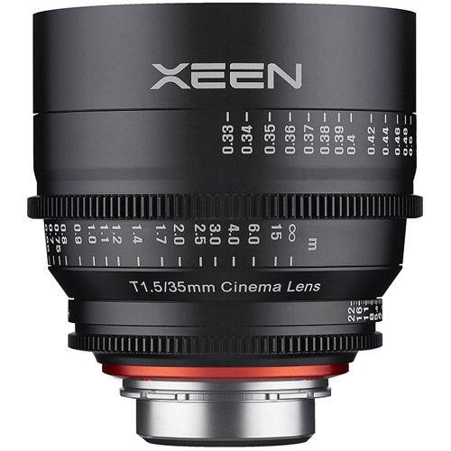 XEEN 35mm T1.5 Lens for Nikon F Mount