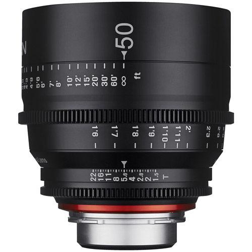 Xeen 50mm T1.5 Lens Canon EF Mount