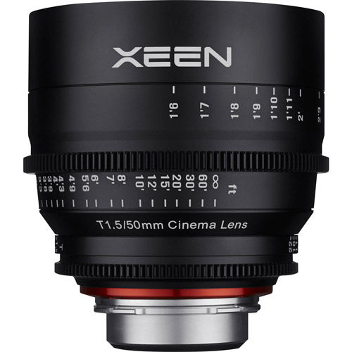 XEEN 50mm T1.5 Lens for Nikon F Mount