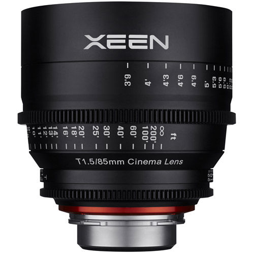 XEEN 85mm T1.5 Lens for Nikon F Mount